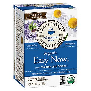 Easy Now 16 Bag By Traditional Medicinals At The Vitamin Shoppe Vitamin Shoppe Caffeine Free Relaxing Tea