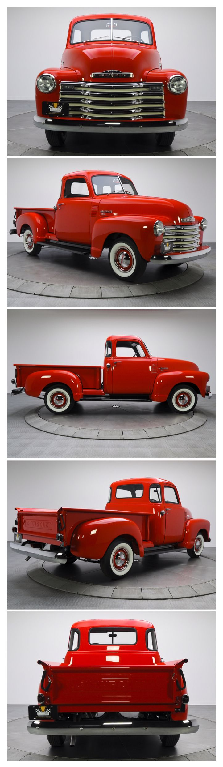 1949 Chevy 3100 Pickup....Buy this for me and I\'ll paint my front ...