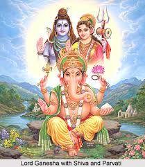 ผลการค้นหารูปภาพสำหรับ shiva parvati ganesh