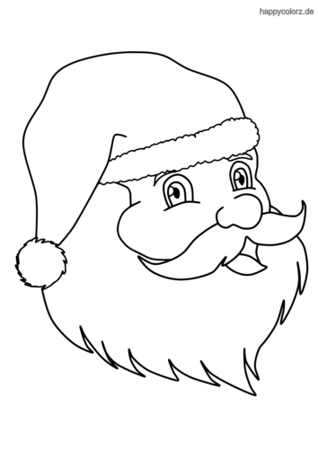 portrait weihnachtsmann malvorlage  ausmalbilder pokemon