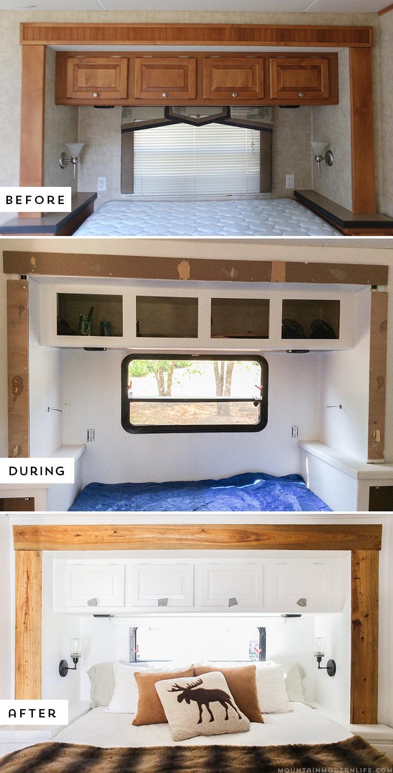 How To Update Rv Slide Out Moulding Mountainmodernlife Com Caravan Renovation Diy Camper Remodel Remodeled Campers