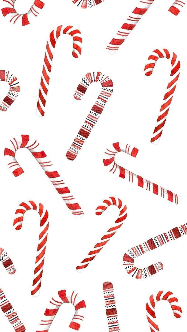 Candy Cane Wallpaper in 2020