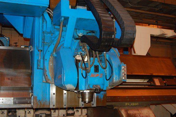 Marwin 6 Axis Cnc Traveling Gantry Bridge Mill 512x 143y 98bh 28 4