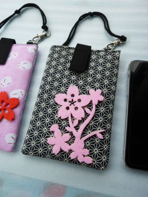Iphone protection case made of japanese by japanmomijidesigns