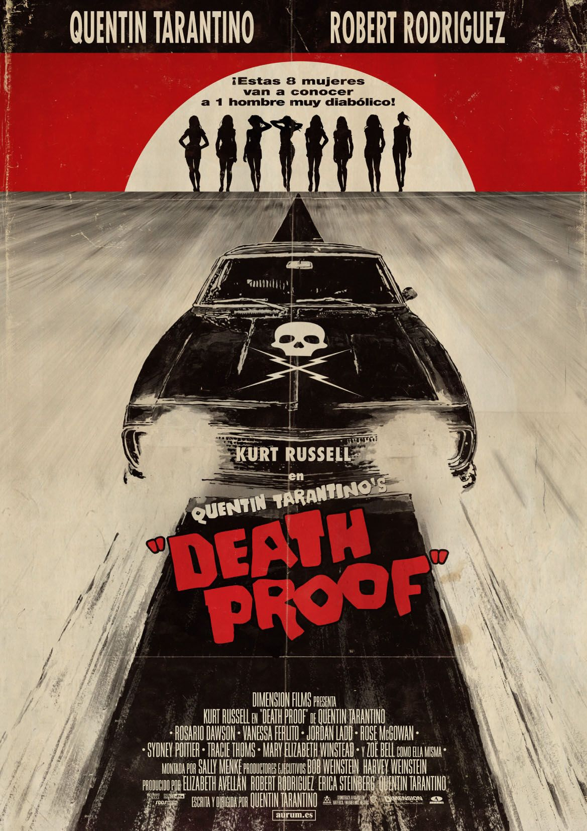 Death Proof - Quentin Tarantino (2007).