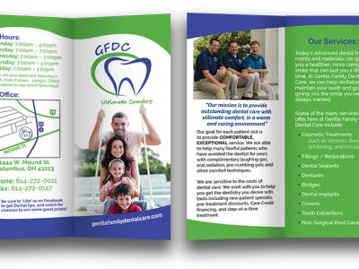 Dental Brochure Design  Brochures Dental And Logos