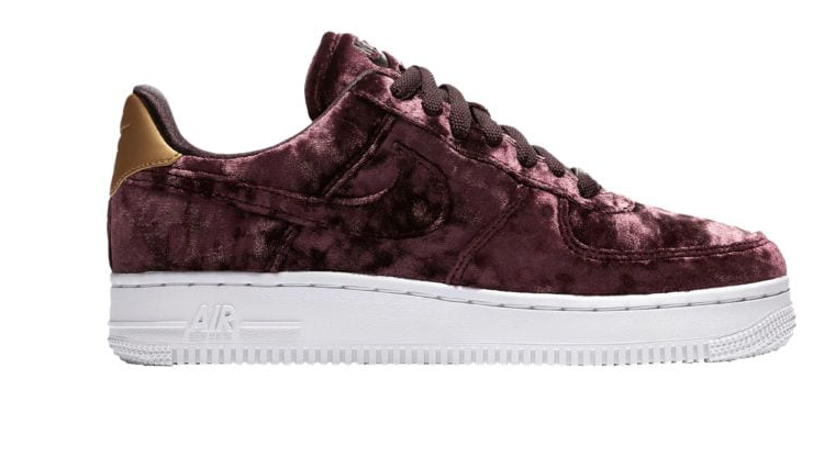new arrival 36f38 1f029 Nike Air Force 1  07 Premium Velvet - Women s ( 109.99)- Size 9.5 . . .  Product    96185600 Selected Style  Port Wine Port Wine Summit White -- at  Lady Foot ...