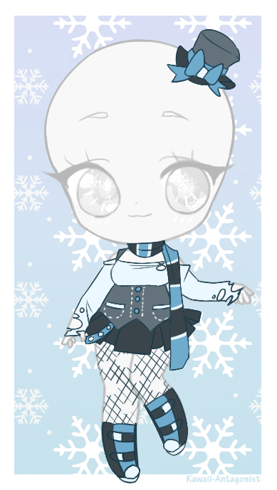 Day 15 - snowman by kawaii-antagonist.deviantart.com on @DeviantArt