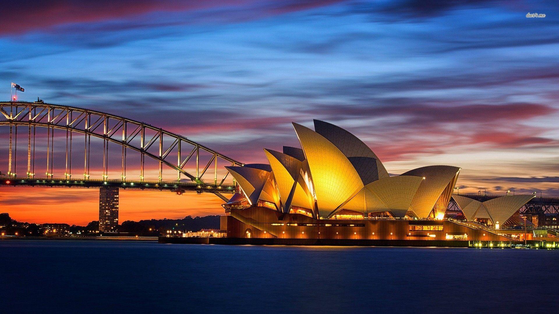 Sydney Opera House wallpaper Australia tourist, Sydney