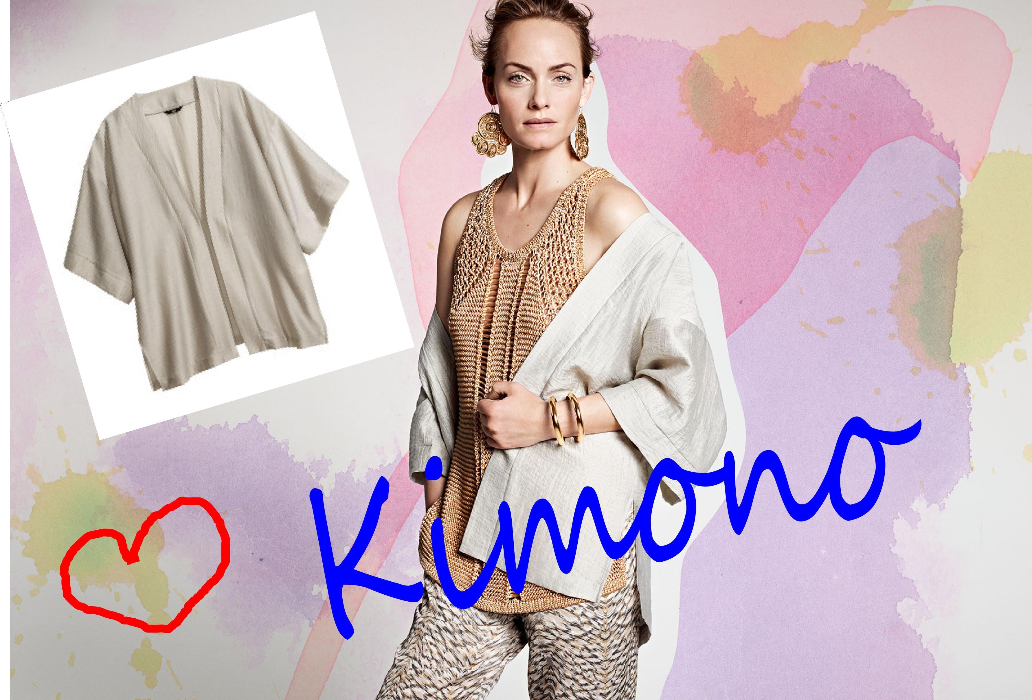 kimono H&M 29,95 E