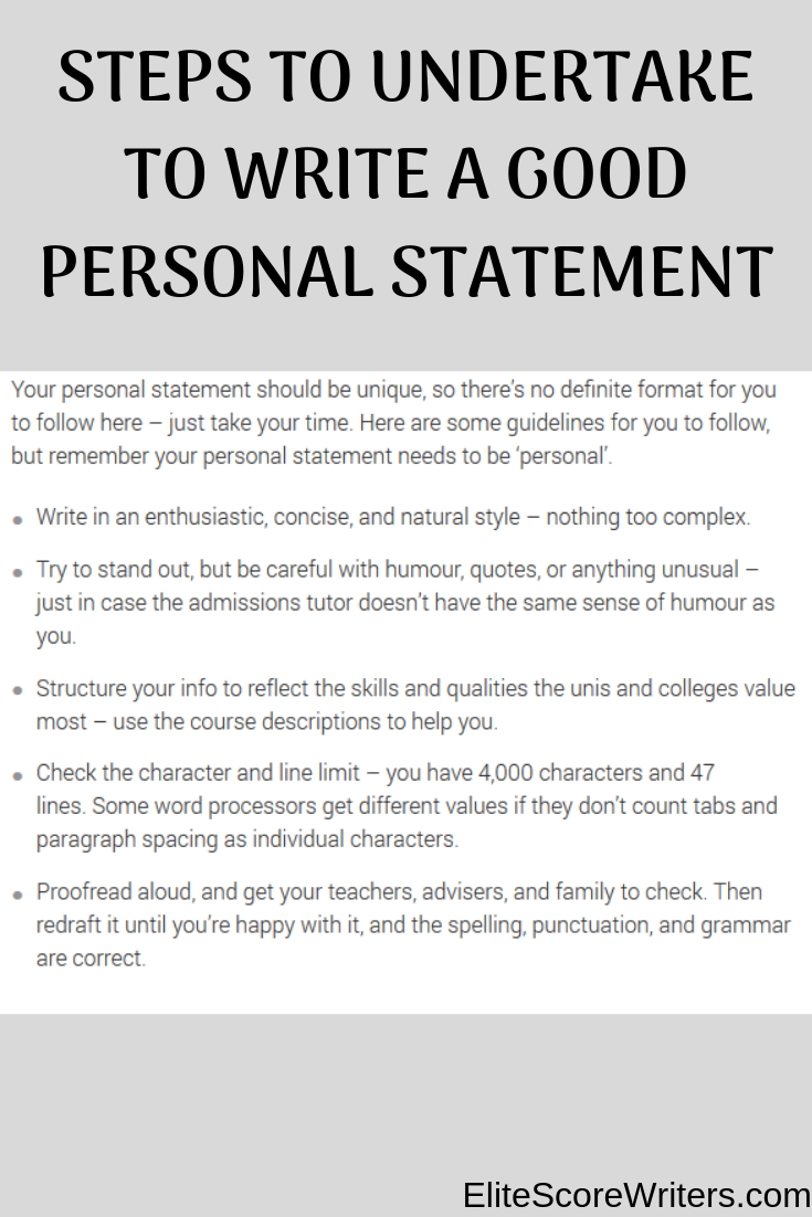 enjoy personal statement format  how to start a personal statement  personal statements examples