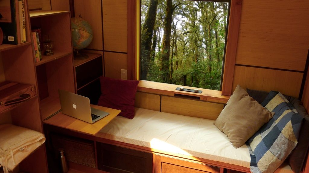 Room Of Requirements: A 150 Sq Ft Mobile Studio With A Beautiful Japanese  Shou Sugi
