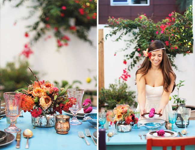 This holiday is the perfect excuse to setup a little backyard lunch or dinner party with Cinco-de Mayo inspired food and drinks (hello, margaritas) for a few guests or the whole neighborhood
