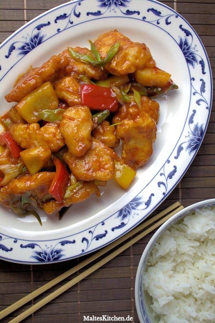 Huhn süß-sauer #thaifoodrecipes