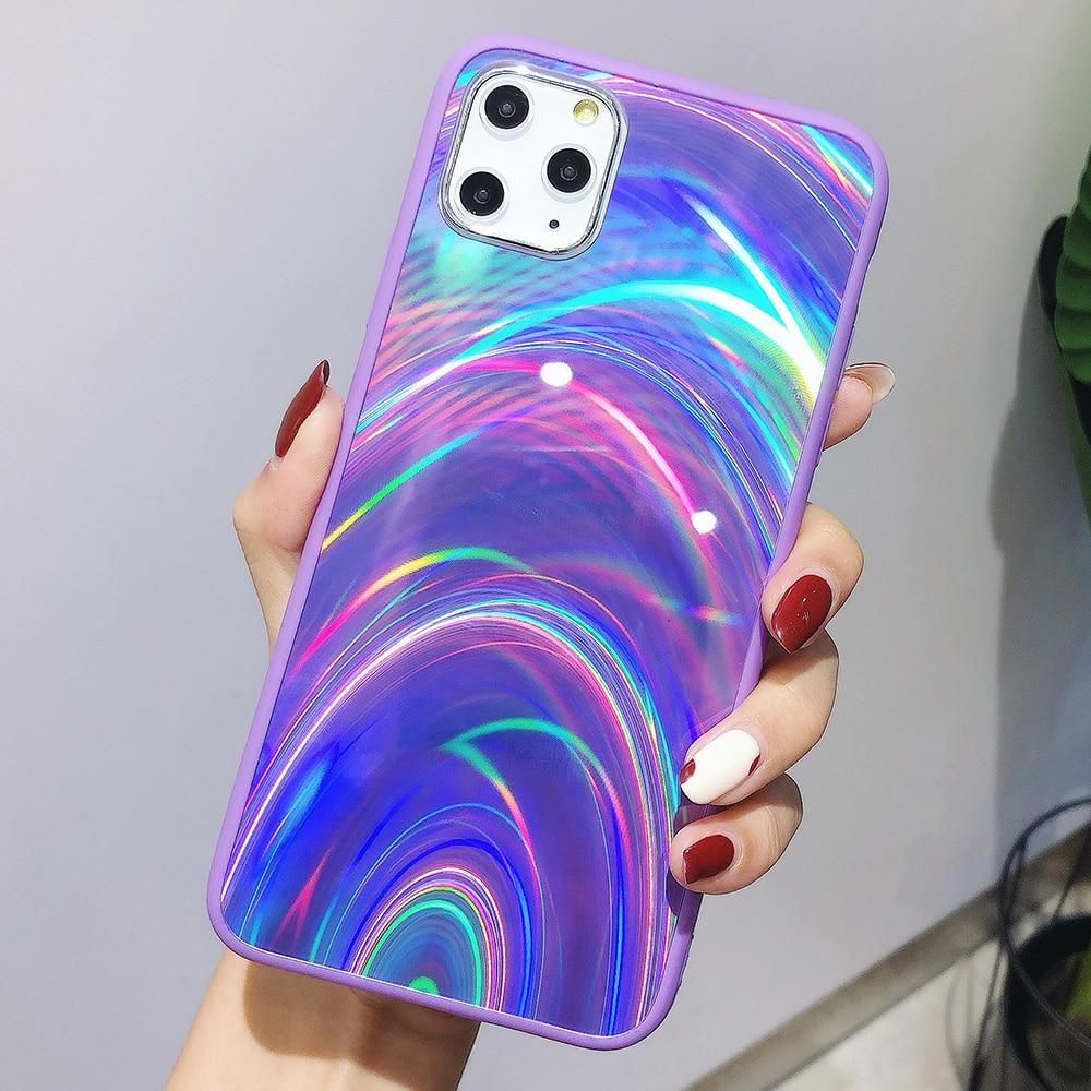Holographic Rainbow iPhone Case Dynamic Grove in 2020