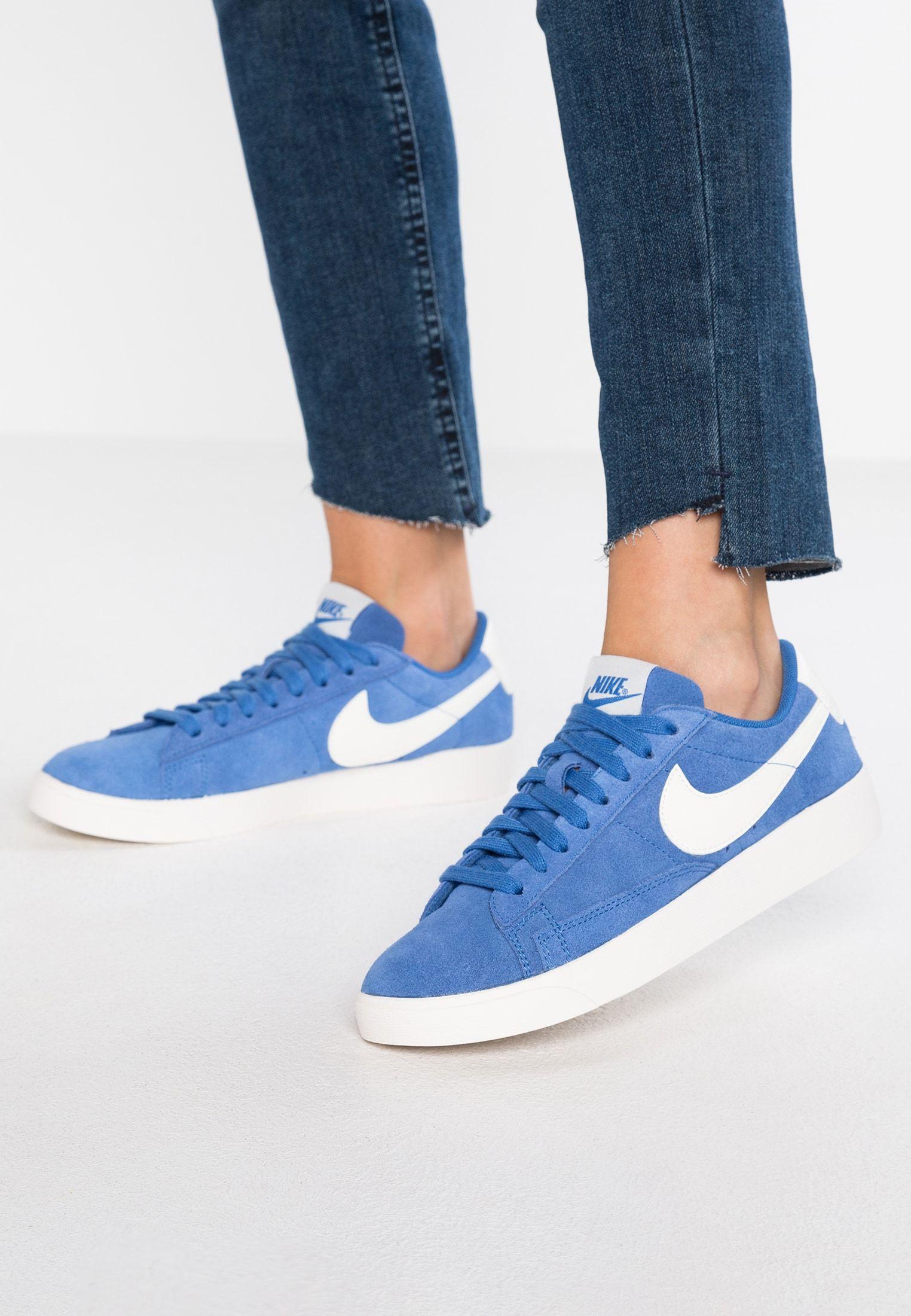 good texture hot sale new high quality BLAZER - Sneakers - mountain blue/sail @ Zalando.se ...