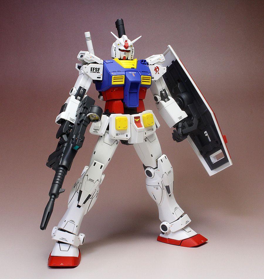MG 1/100 RX-78-2 Gundam The Origin (Special Edition