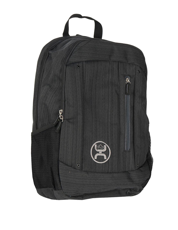 d038d1da988e HOOey Logic Textured Black Backpack