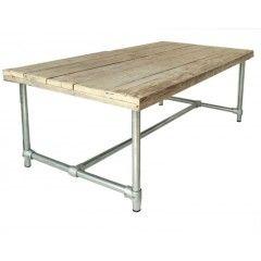 Esstisch Im Industriedesign Gartentisch Tisch Mit Tischbeinen