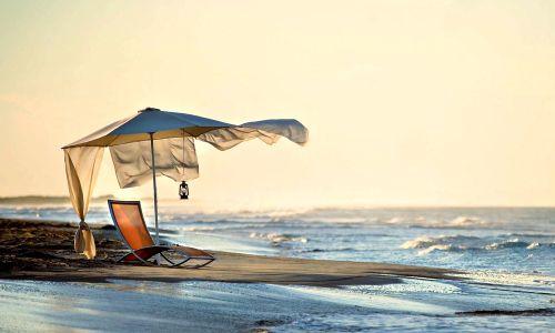 Manhã do verão - Praia, mar, Cadeira, Natureza, Céu, Verão, Manhã, Paisagem, Cobertura, Sunrise