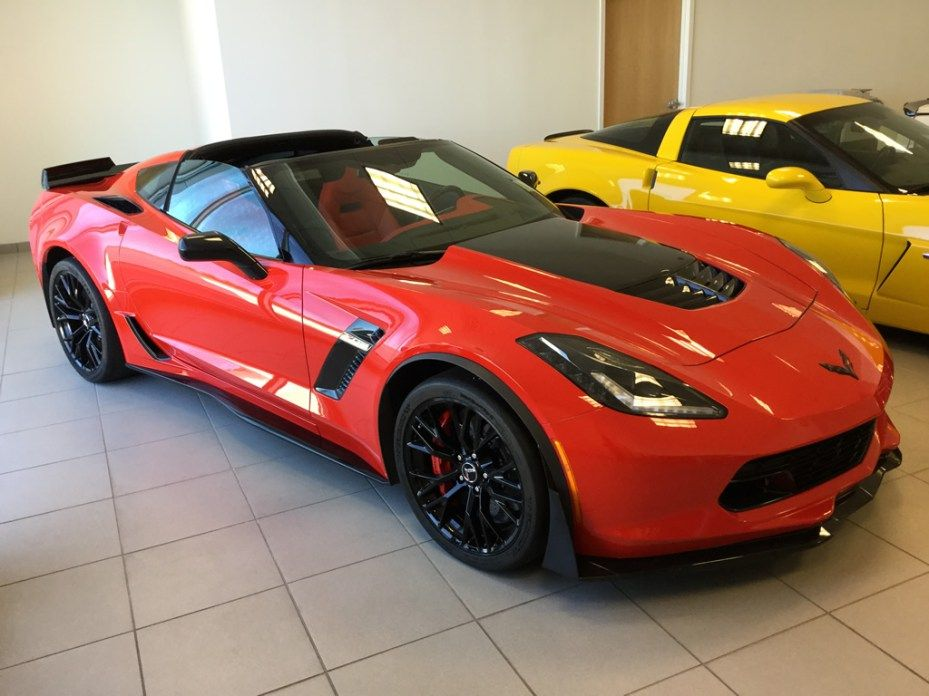 2015 Corvette Z06 2lz With The Z07 Performance Package 2015