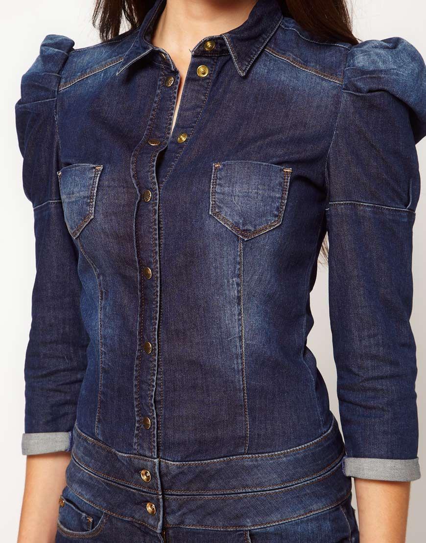 d8810a790321e Miss Sixty - Combinaison en jean   Jeans   Pinterest   Denim, Jeans ...
