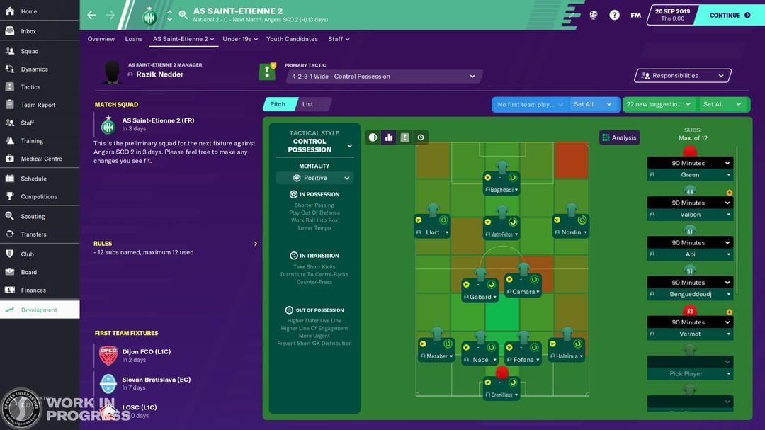 Fm20 News Development Center U23 Tactics Fm Expert Footballmanager Fm Football Soccer Fi Football Manager Football Manager Games Football