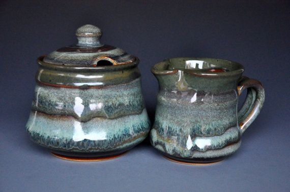Hey, I found this really awesome Etsy listing at https://www.etsy.com/listing/256302395/ceramic-sugar-bowl-and-creamer-stoneware
