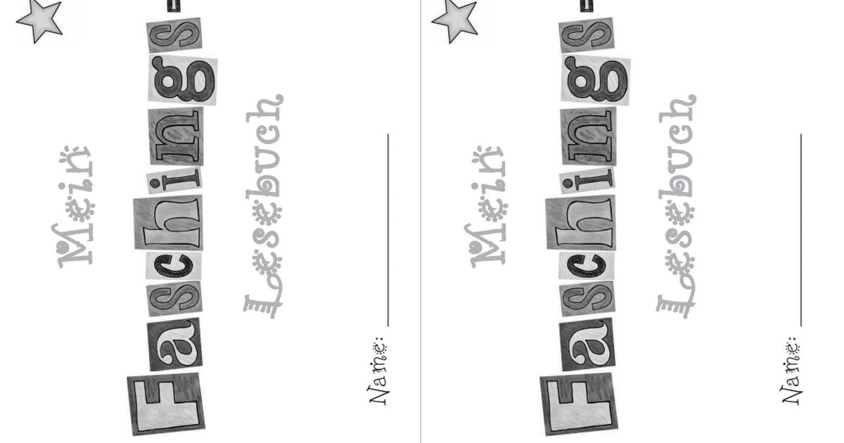 Faschings - Lesemini.pdf | deutsch | Pinterest | Schule ...