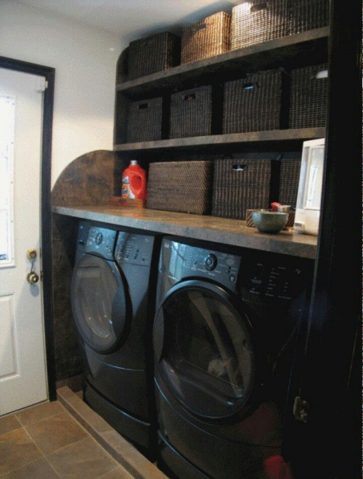 love all of the darkness laundry room pinterest lavage amenagement buanderie et salle. Black Bedroom Furniture Sets. Home Design Ideas