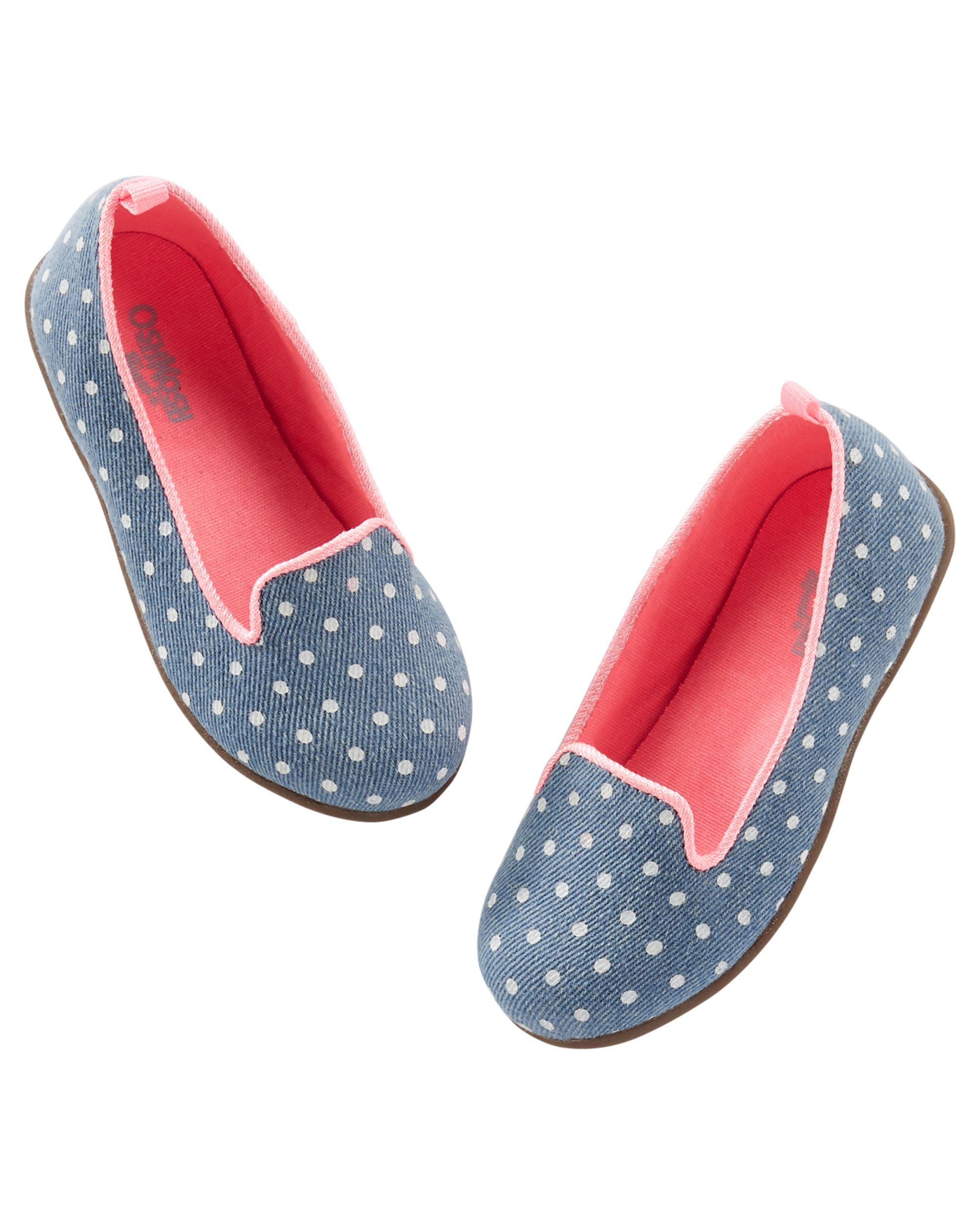 caa8610113cc Toddler Girl OshKosh Polka Dot Loafers from OshKosh B gosh. Shop clothing    accessories from a trusted name in kids