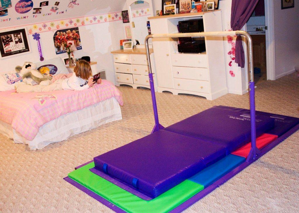 Junior Kip Bar Kid Stuff Gymnastics Room Girls