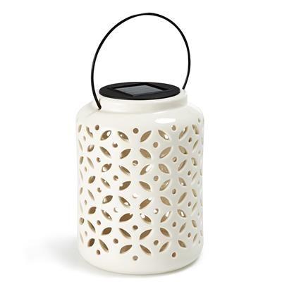 Ceramic Lantern Solar Light From Kmart