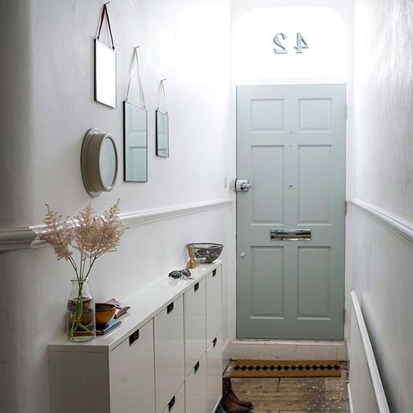 Small Foyer Storage Solutions : Dulux light and space hallway google search