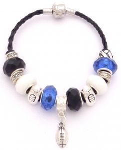 Bath Rugby Colours Charm Bracelet Unique Inspired Gift Ideas From Tain Brae World All Rugby World Bracelets Pandora Charms Charmed