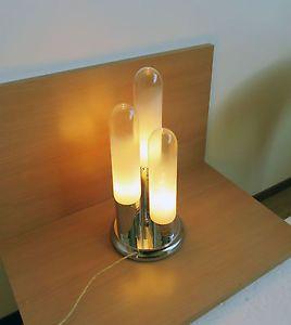 Anni 1970 italiano murano mazzega carlo nason lampada da tavolo stile ebay lamps - Lampada da tavolo vintage ebay ...