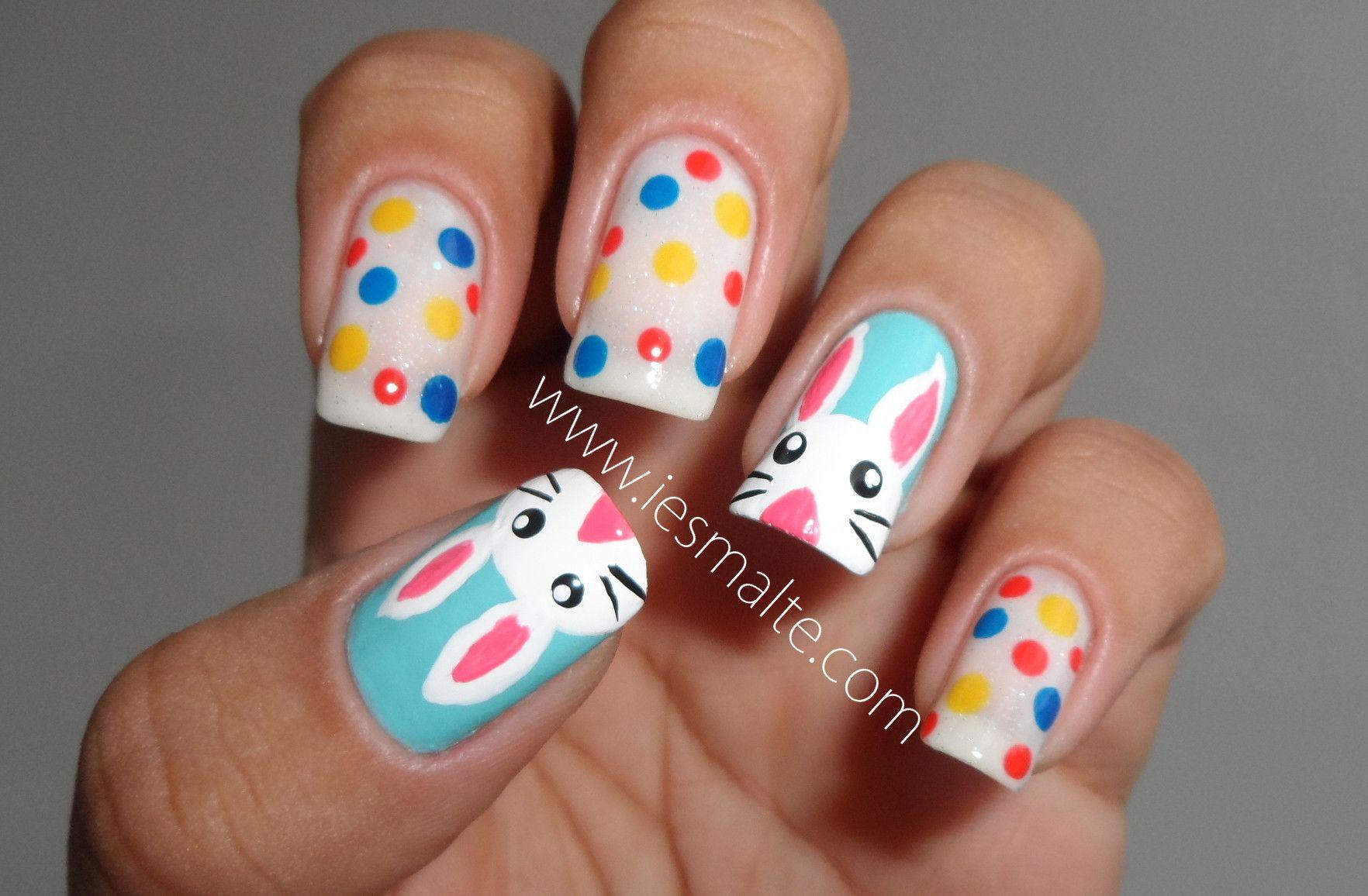 Easter Bunny Nails   Nail Art   Pinterest   Bunny nails, Easter ...