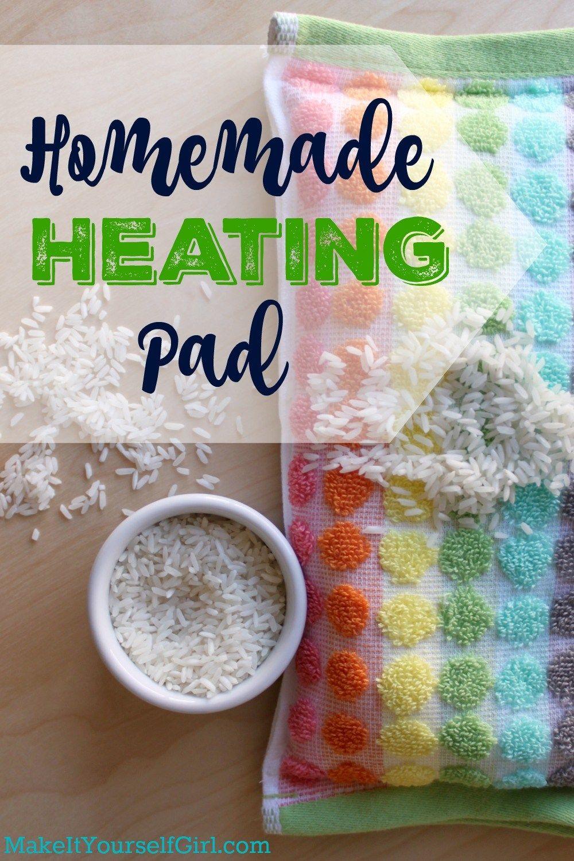 Homemade heating pad homemade heating pad diy heating