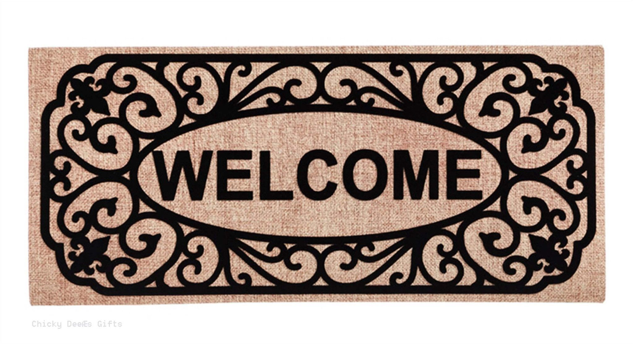 Evergreen Sassafras Switch Mat Garden Filigree Welcome 431241BL