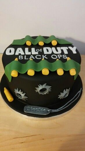 Call Of Duty Black Ops Cake Berrynicecakes Used Xbox Games