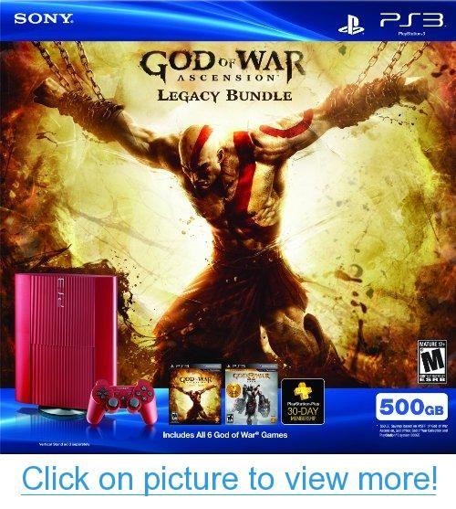 PS3 500 GB God of War Ascension Legacy Bundle | Consoles