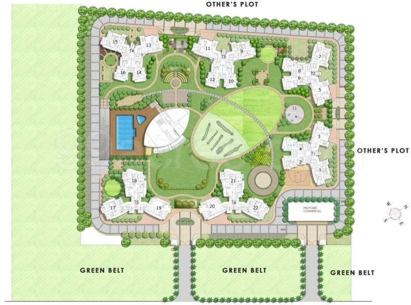 Ashiana Homes sector 79 layout plan noida by Ashiana Housing ...