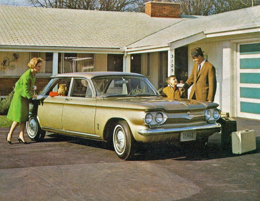 1961 Chevrolet Corvair Monza 4 Door Sedan