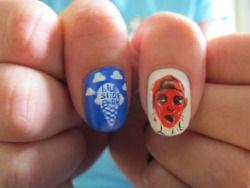Nail Art Tumblr Tumblr Nail Art Nail Art Inspiration Mac Miller