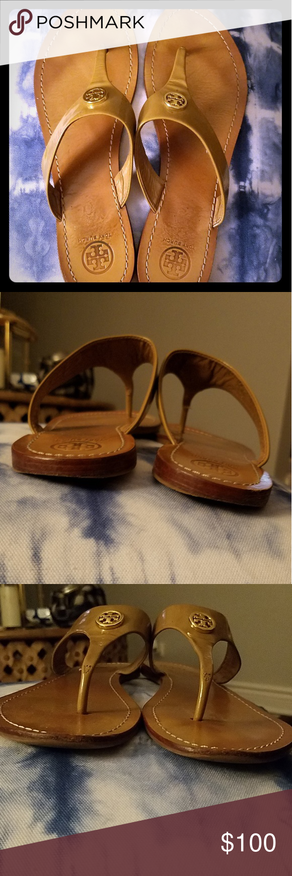 d4c5beca3e6f I just added this listing on Poshmark  Tory Burch Sandals.  shopmycloset   poshmark  fashion  shopping  style  forsale  Tory Burch  Shoes