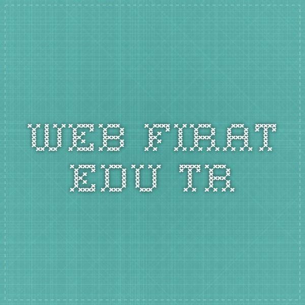 web.firat.edu.tr