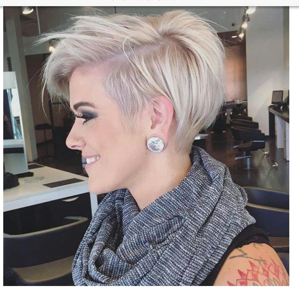 Pin by Melissa Howard on Pixie Haircuts | Pinterest | Shaved sides ...