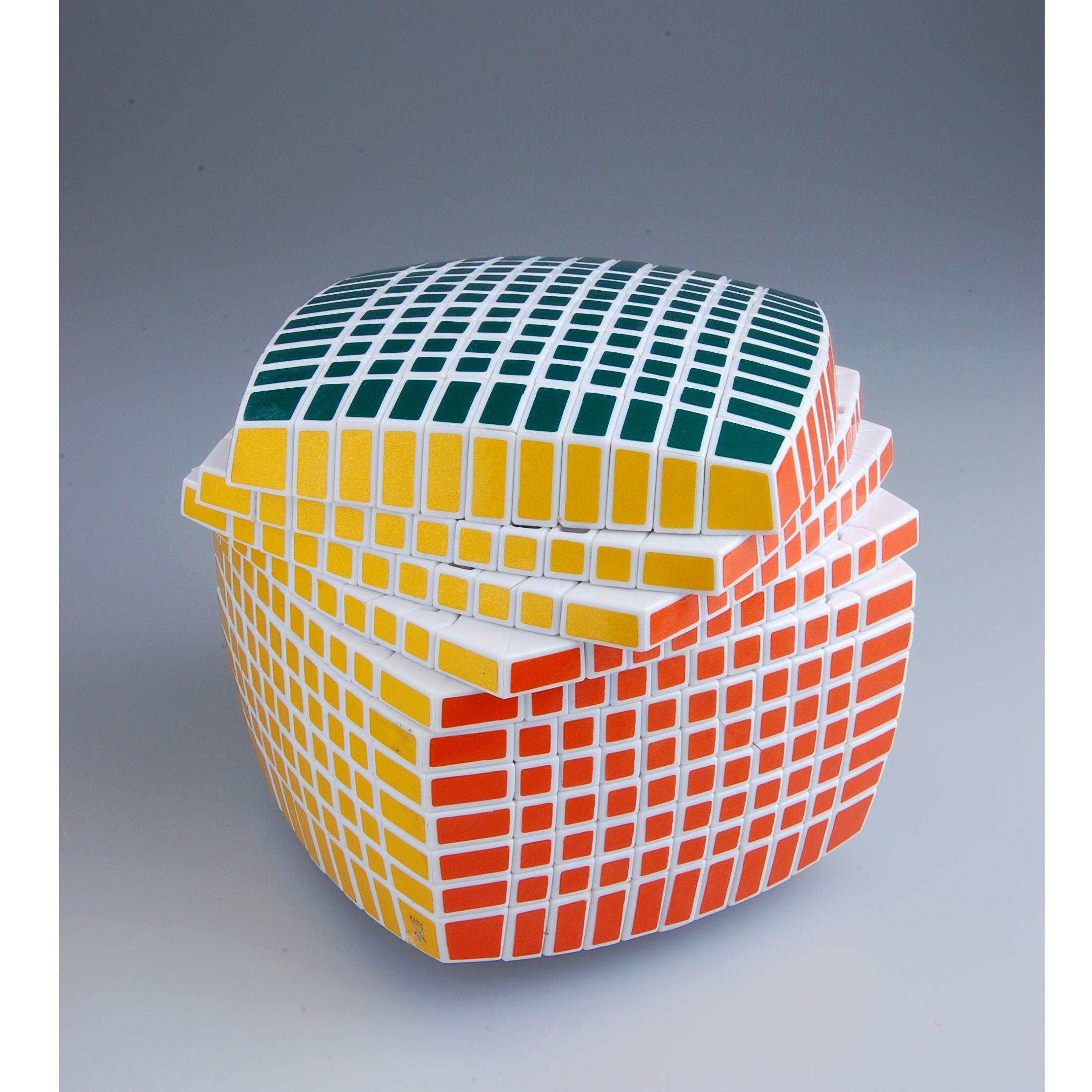Yuxin 11x11 Magic Cube Puzzle White Http Www Eachbyte Com Yuxin 11x11x11 White Html Outdoor Decor Outdoor Ottoman Decor
