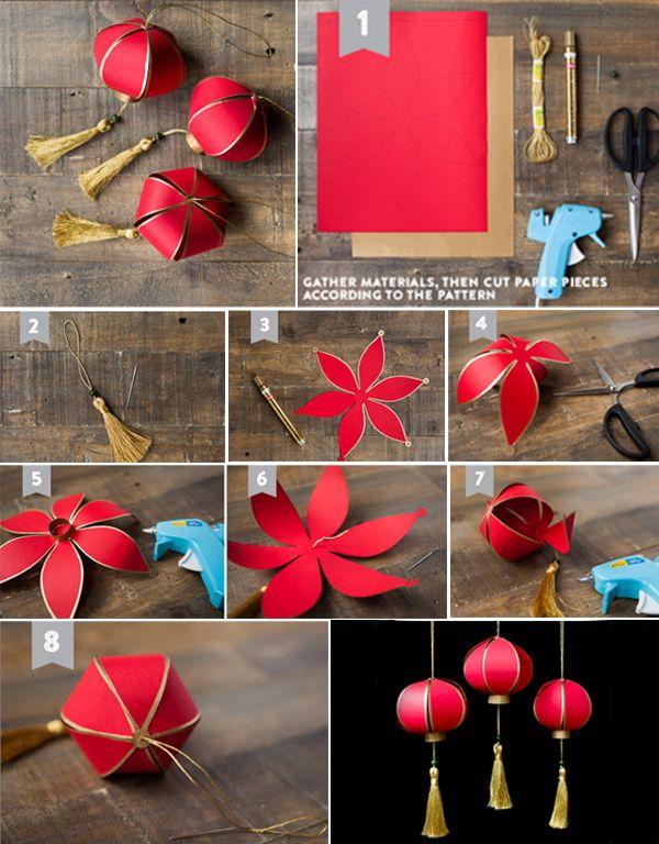 Cara Membuat Lampion China Dari Kertas Things To Wear