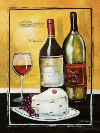 WINE ART PRINT Merlot Conrad Knutsen